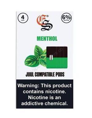 Eonsmoke Menthol JUUL Compatible Pods – 4 Pack