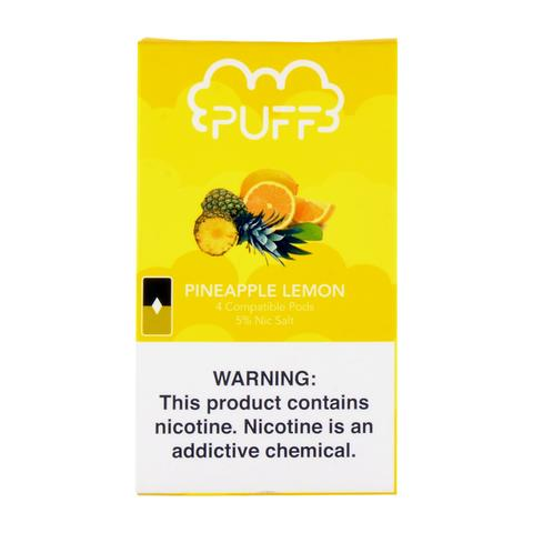 Puff Pineapple Lemon 4 Pods