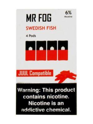 Mr Fog Swedish Fish 4 Pods