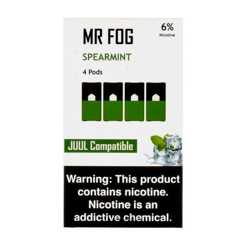 Mr Fog Spearmint 4 Pods