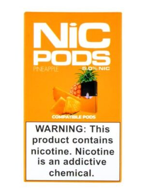 Nic Pods Pineapple Pack of 4