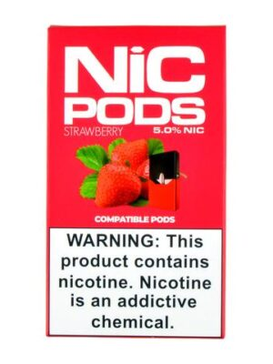 Nic Pods Strawberry Pack of 4