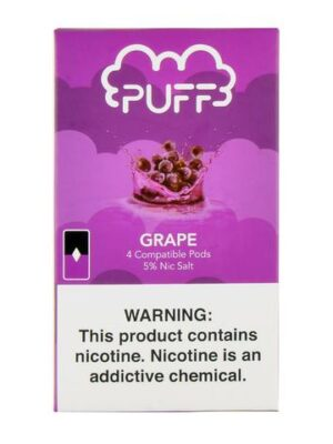 Puff Grape 4 Pods