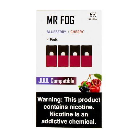 Mr Fog Blueberry + Cherry 4 Pods