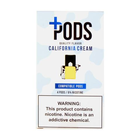 Plus Pods California Cream Pack of 4