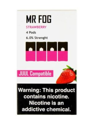Mr Fog Strawberry 4 Pods