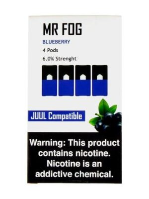 Mr Fog Blueberry 4 Pods