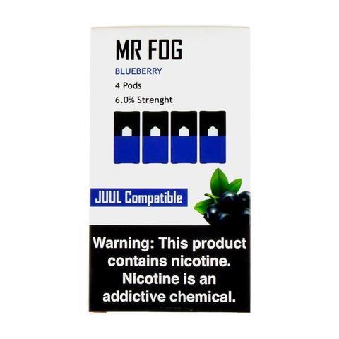 Mr Fog Blueberry 4 Pods
