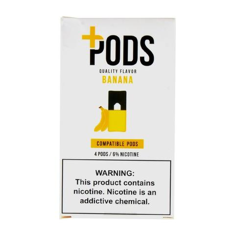 Plus Pods Banana Pack of 4