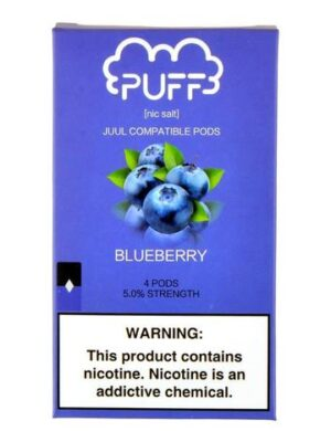 Puff Blueberry 4 Pods