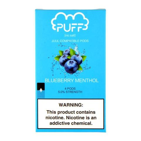 Puff Blueberry Menthol 4 Pods