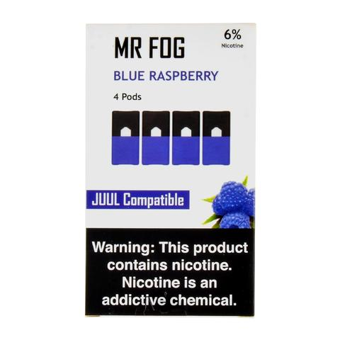 Mr Fog Blue Raspberry 4 Pods