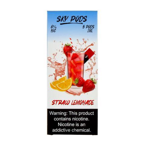 Sky Pods Straw Lemonade Pack of 5