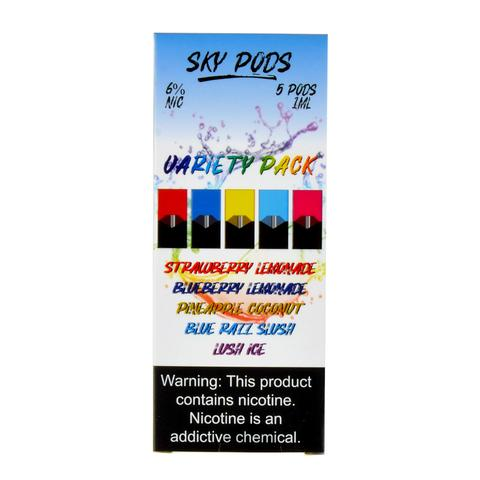 Sky Pods Variety Pack of 5