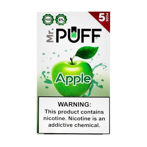 Mr Puff Apple 5 Pods