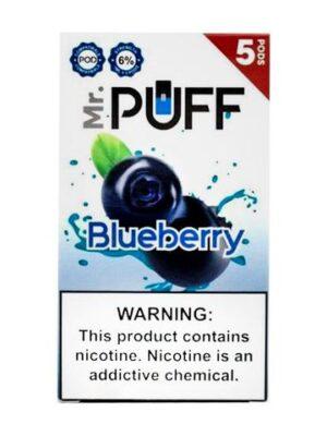 Mr Puff Blueberry 5 Pods