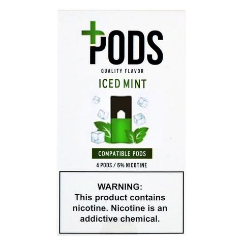 Plus Pods Iced Mint Pack of 4