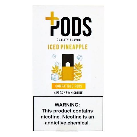 Plus Pods Iced Pineapple Pack of 4