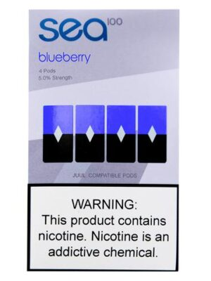 Sea 100 Blueberry 4 Pods